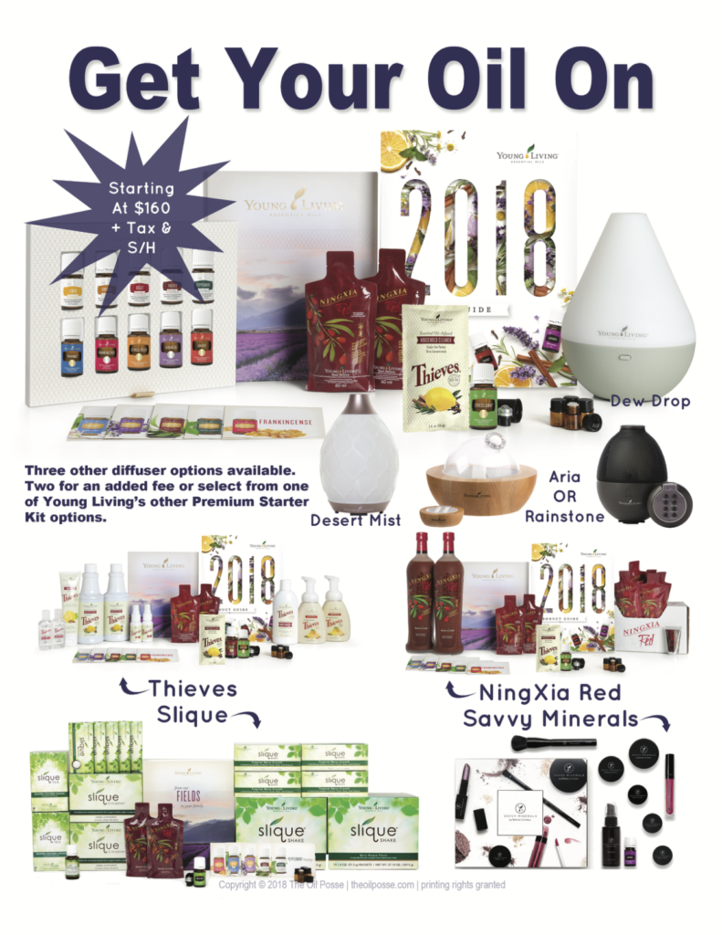 All the Young Living Premium Starter Kids